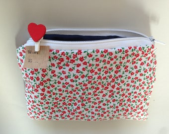 Zipper pouch, pencil case, purse (free shipping)