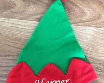 Personalised Baby Elf Hat
