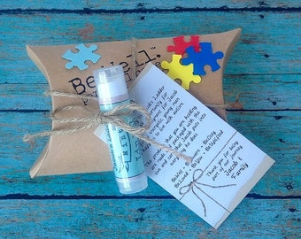 AUTISM AWARENESS Mini Gift Pack - Paraben/Sulfate Soap and Lip Balm