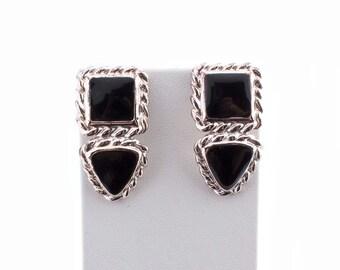 Anne Klein Geometric Earrings