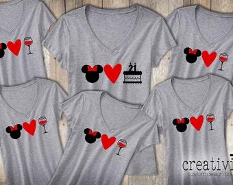 Custom Disney t-shirts