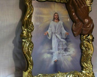 Listing 219 is a Jesus resurrection wall decor