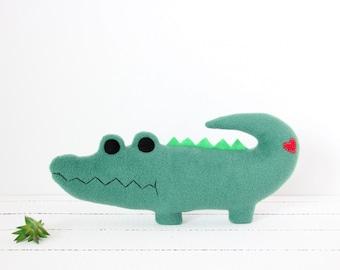 Alligator Plush, Gator Plush, Stuffed Animal, Stuffed Alligator, Alligator Toy, Alligator Gifts, Baby Shower, Baby Girl, Baby Boy, Alligator