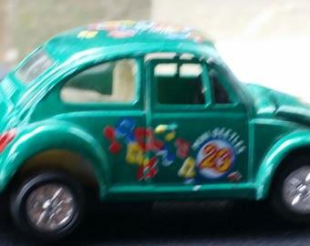 Mini green Volkswagen bug