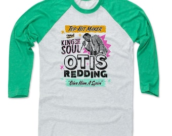 Otis Redding Men's Shirt | Soul Music | Baseball T Shirt | Otis Redding Soul K