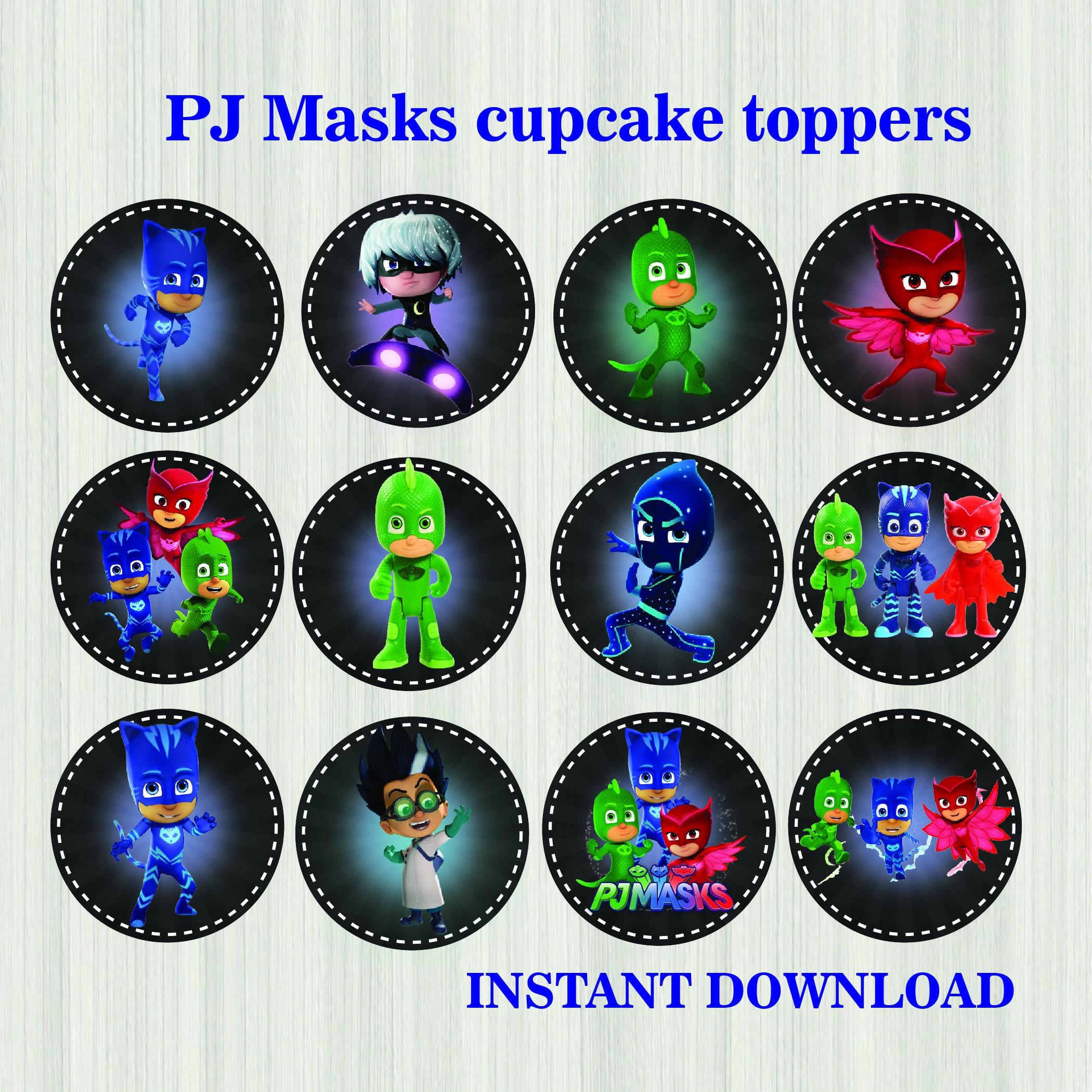 Pj Masks Colorring Pages
