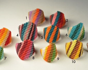Macrame Rings