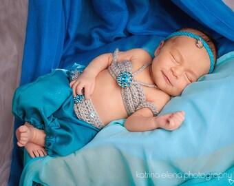Arabian Princess Newborn Prop/ Baby Belly Dancer Prop/ Egyptian Princess Newborn Prop/ Baby Photo Prop/ Customize Newborn Prop