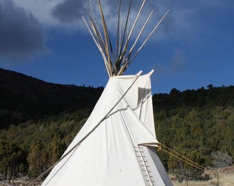 Childs Sioux Style Backyard Tipi/Teepee - 8 ft