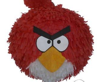 Angry Bird Piñata. (Red Bird)