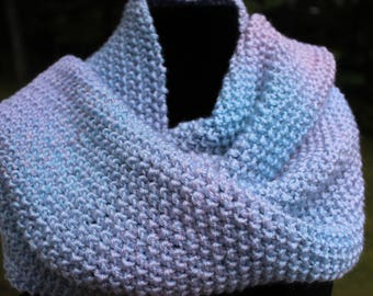 Scarf - Hand Knit Scarf - Winter Scarf - Scarves - Knitted Scarf - Hand Knitted Scarf