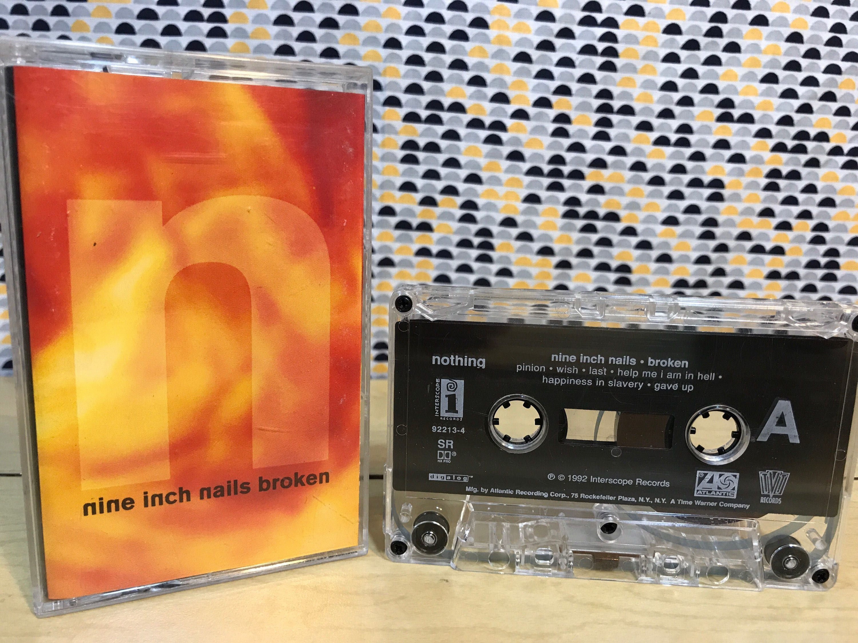 Nine Inch Nails Broken Cassette tape 1992 Nothing