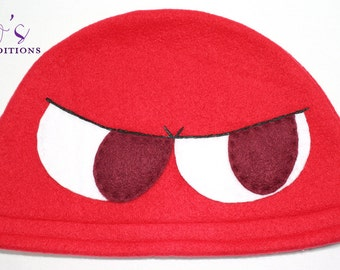 Puyo Puyo - Red Hat / Fleece Hat / Winter Hat / Puyo Hat / Video Game Characters