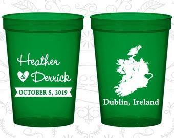 Ireland Wedding Cups, Ireland Stadium Cups, Ireland Plastic Cups, Ireland Cups, Ireland Party Cups (180)