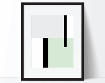 Modern Print, Geometric Print, Minimalist Art, Modern Poster, Abstract Print, Geometric Art, Modern Digital Print, Modern Printable