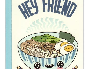 Hey Friend Comfort Food Card