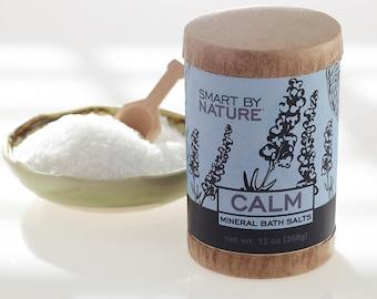 Calming Lavender EO Mineral Detox Bath Salts