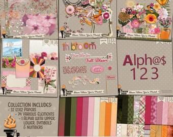 Bloom Where You're Planted Scrapbook Collection