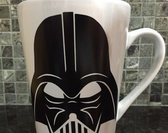 Darth Vader Mug,Darth Vader Coffee Mug,Star Wars Mug,Star Wars Coffee Mug,Star Wars Gift,Darth Vader Gift