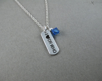 CLEARANCE - I (Heart) Dr Who Charm Necklace - Silver Charm