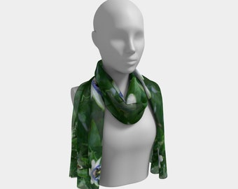 Passion Flower Scarf