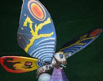 Mothra Papermodel DIY