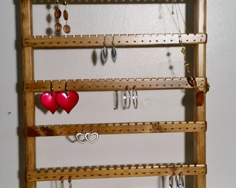 Earring Organizer Stand, Earring Stand, Earring Rack, Earring Holder, Earring Display, Earring Storage, Earring Organizer, Jewelry Rack
