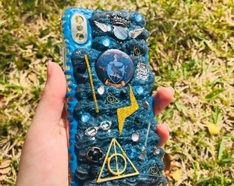Ravenclaw Harry Potter Decoden Phone Case iPhone X