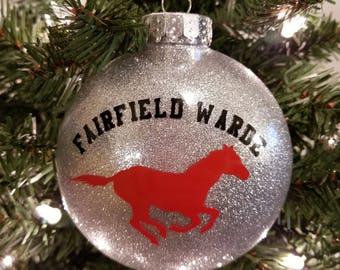 Fairfield Warde School Ornament