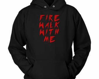 Fire Walk With Me Twin Peaks Hoodie Black Lodge