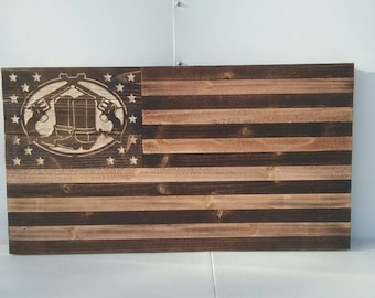Wild wild west, boots and guns, cowboy decor, old rustic wooden flag 19x35