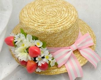Custom Boater hat