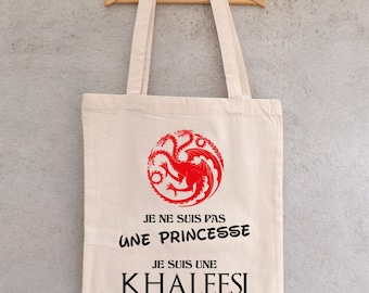 "Tote Bag ""KHALEESI"" - shopping bag"