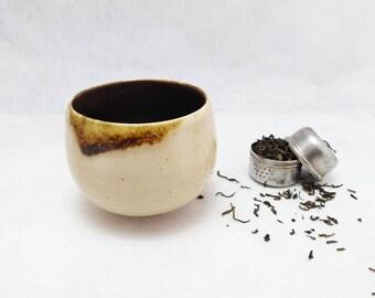 Ceramic glass. Unique piece. Contemporary ceramics.