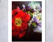 Flowers, Arabeque Pattern...