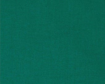 Emerald, Green Fabric, Kona Cotton Solids, Green Solid Fabric, Solid Fabrics, Kona by Robert Kaufman, 1135
