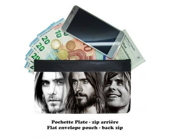 Zip envelope pouch - jared leto - 01-04