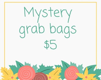 Mystery grab bags |clip or headband