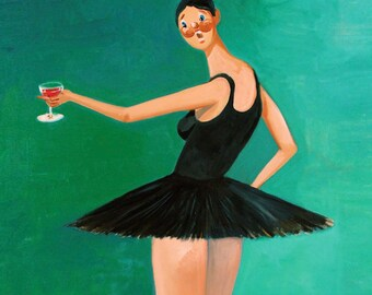 Kanye West My Beautiful Dark Twisted Ballerina Poster Art