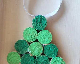 Small Cork Tree Ornament