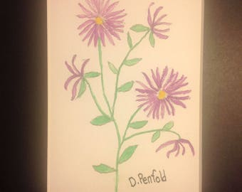Aster Painting