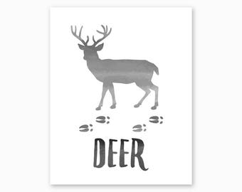 Deer Wall Art | Etsy