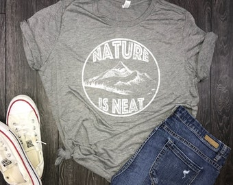nature shirt, hiking t-shirt, hiking shirt, wanderlust, mountain shirt, nature tshirt, shirt nature, wanderlust shirt, womens nature shirt