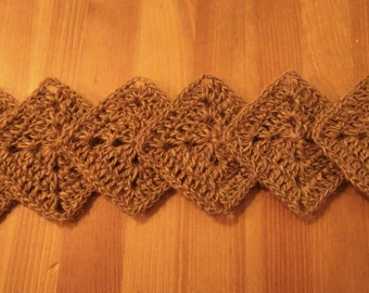 Coaster of crochet Twine