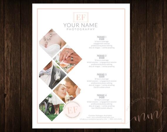 Bien-aimé VENTE Photographie mariage marque prix Kit de Guides liste HS23
