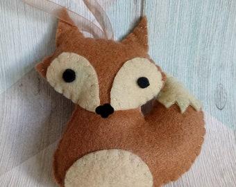 Little Felt Fox Decoration