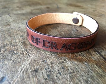 Game of Thrones - Mother of Dragons - Leather Bracelet