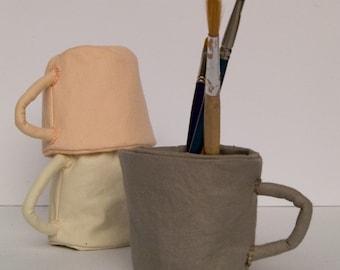 Set Of Three Cloth Cups