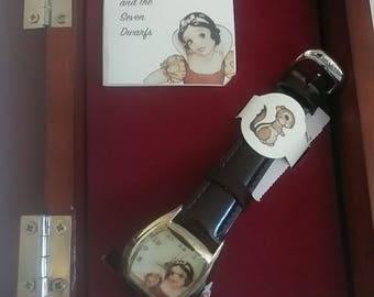 Disney's Snow White Limited Edition Watch Commemorated 1ST Full Lenghth Film-New