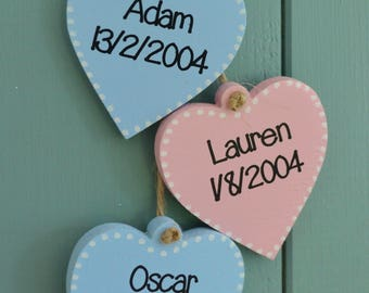EXTRA HEARTS ONLY for Grandparents house rules plaque